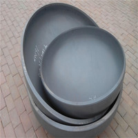 Carbon Steel Pipe Fittings A234 WBP Cap Ends For Pipe End