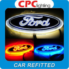 Led 4d car logo/car led emblem for FORD