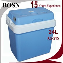 top selling 12V 24L medical vaccine blood cooler box portable mini electric cooler box with 1.5l big capacity car refrigerator