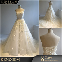 Fashion High Quality designer bridal dress patterns