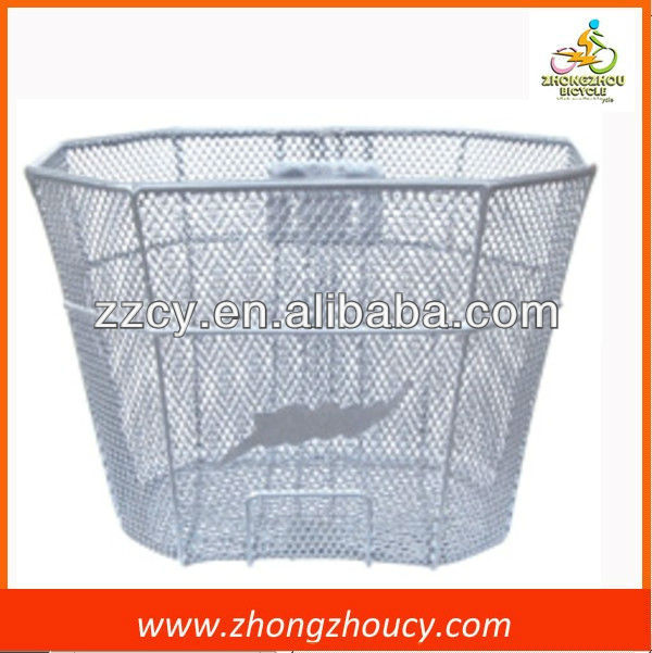 new style front steel wire bike/bicycle basket - Durable feature