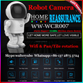 2016 WellwinNew WIFI Smart Robot Camera HD 960P Network Robot Camera New Night Vision Home IP Camera