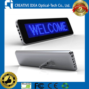 Programmable Mini LED Message Display