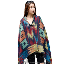 Texted Material Mongolia 100% funkly scarf with hat vietnam pashmina scarf