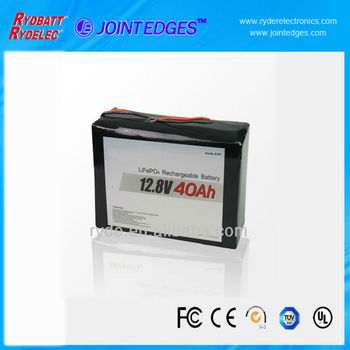 LiFePO4-4S2P 12.8V 40Ah LiFePo4 rechargeabel battery