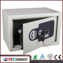 ISO9001-2008 door lock box , fingerprint gun cabinet safe