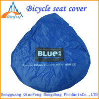 Nonwoven waterproof bike seat cover, Custom bicycle seat cover