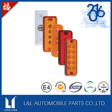 LED Side Marker Orange Amber Lights for Iveco Mercedes Fiat Renault