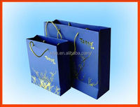 Luxury Shopping Paper Bag Different Design Foldable Shopping Bag