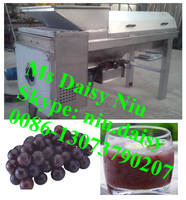 commercial grape juicer machine/grape juicer extractor/grape juicer with stem remove function