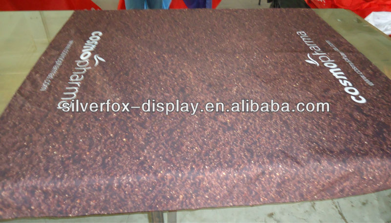 fire resistance table cloth with logo printing