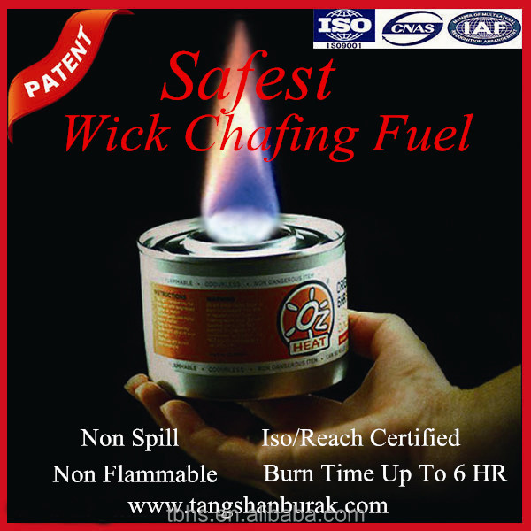 6hr OZ Heat DEG chafing dish buffet fuel food heater warmer