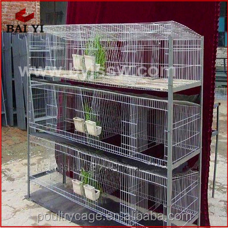 Indoor Aluminum Rabbit Cages And Double Decker Rabbit Hutch(H type ,alibaba supplier)