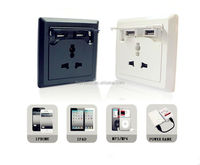 For ipad,iPhone charging universal usb power socket