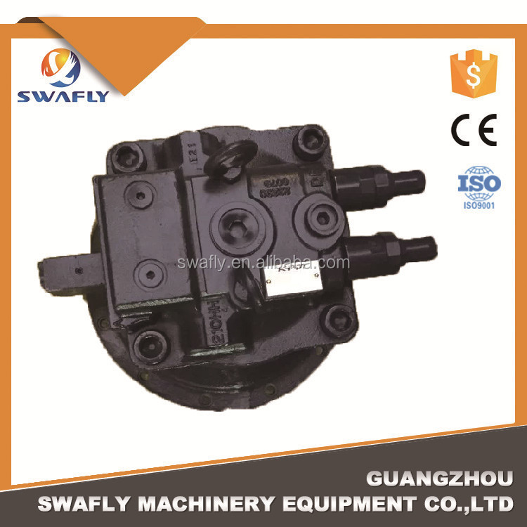 China Original Kawasaki Excavator Parts EX300 EX350 Swing Motor For M2X210CHB