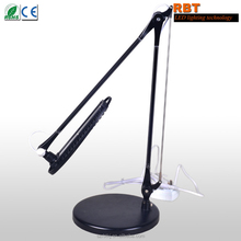 LED Portable Flexible office working table lamp/Adjustable Work and Study Foldable Desk Lamp
