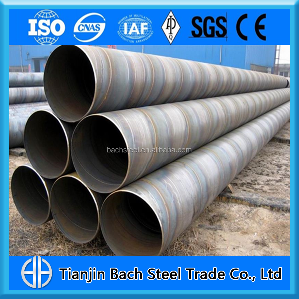 Hydropower Projects Penstock Pipe SSAW Spiral Steel Pipe Large Diameter Pipe from China