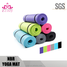 Screen printing supplies eco nbr foam yoga mat 15mm