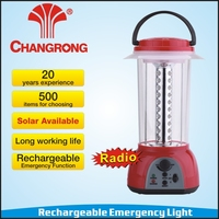 Rechargeable led camping lights FM radio lantern CR-3140RDL