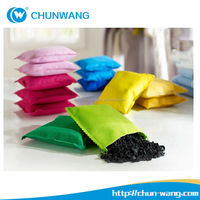 Deodorizing shoe Bags Bamboo Charcoal Activated Carbon Scented Sachet