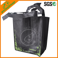 Promotional Cheap Customized Foldable Laminated Eco Fabric Tote Non-woven Shopping Bag, Recyclable PP