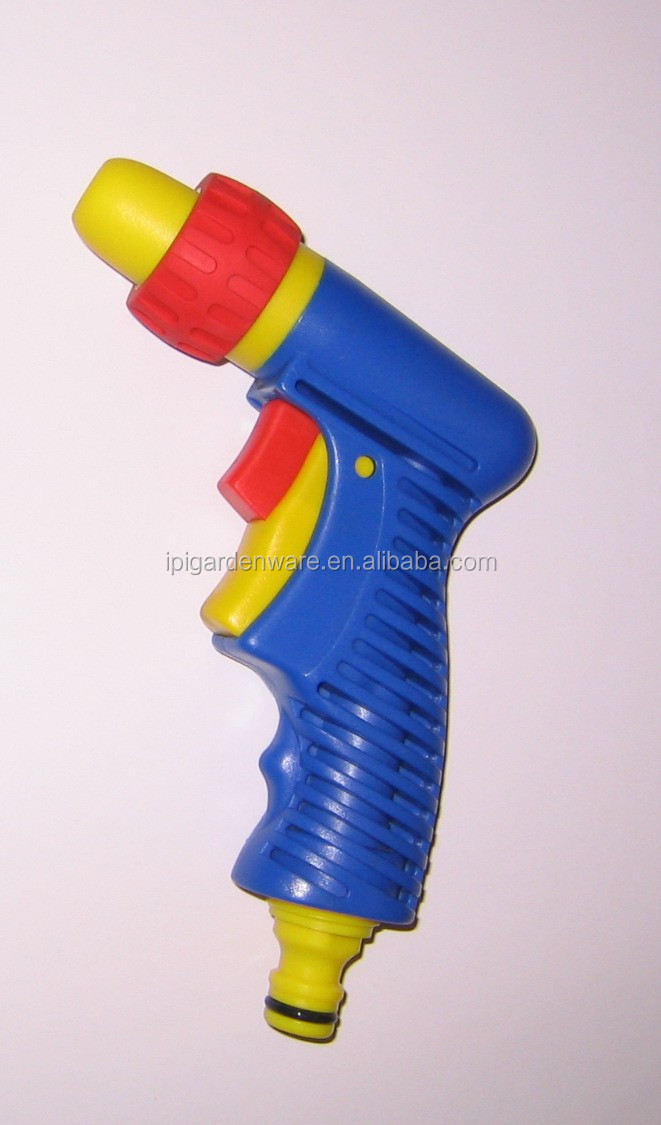 Adjustable Plastic Front-pull Trigger Nozzle with adaptor (GWI-2294)