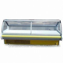 Lift-up Curved Glass Serve Over Counter with 1.8/2.4/3.6m Optional Width