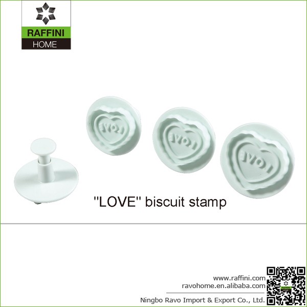 Personalized Love PP Cookie Stamp