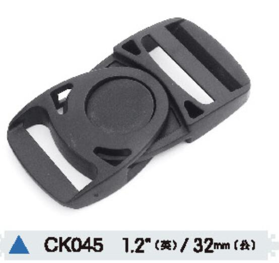 Plastic Side Release Strap Rotating Buckle for Luggage Backpack Straps Webbing