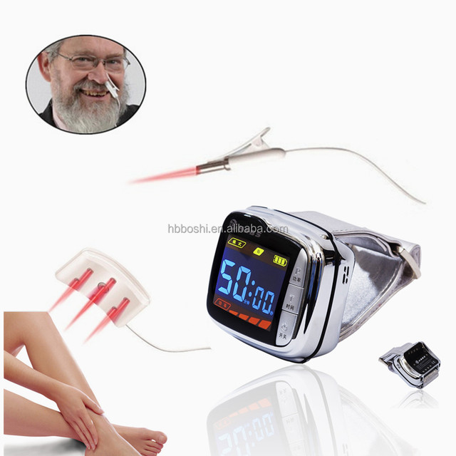 Latest inventions products blood pressure curing knee pain relief cold laser watch