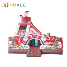 Christmas Inflatable bouncer slide,Inflatable combos for kids