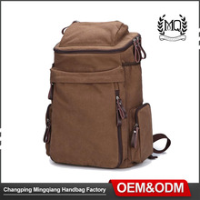 Men's vintage rucksacks backpack shoulder laptop bag military shoulder bag fashion canvas backpack