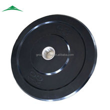 Crossfit Black Rubber Bumper Plate