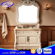 Best Quality Freestanding Solid Wood Bathroom Cabinet Cheap Solid Wood Bathroom Cabinet Single Sink Bathroom Cabinets