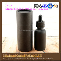 30 ml dropper bottle black frosted bottle 30ml wholesale glass liquor bottle