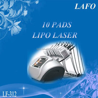 10 Paddles Lipo Laser Slimming Machine/ Best Lipo Laser Home Use (hot in europe!!)