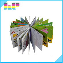 Cheap baby board book with thick art paper printing