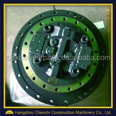 Hydraulic travel motor, PC200-6 Excavator Final Drive Assembly, PC200-6 travel device, 20y-27-00101, 20y-27-00102, PC200-6