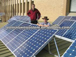 3000W Best sales and long warranty with high quality solar panels 250 watt