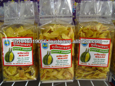 THAI DURIAN CHIPS FRIED FRUIT SNACK