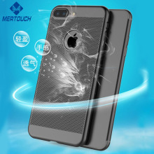 Heat Dissipation Gridding Mobile Hard Cell Phone Case, For iPhone X Case, For iPhone 7 Plus Case