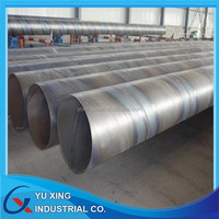 Gold supplier of SSAW steel pipe for gas and oil project