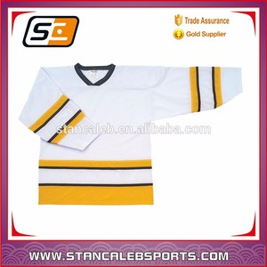 Stan Caleb reversible hockey custom blank ice hockey jerseyslatest fashion sublimated colorful 5XL ice hockey jerseys