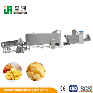 High Quality Popped Cereal Snacks Making Machine