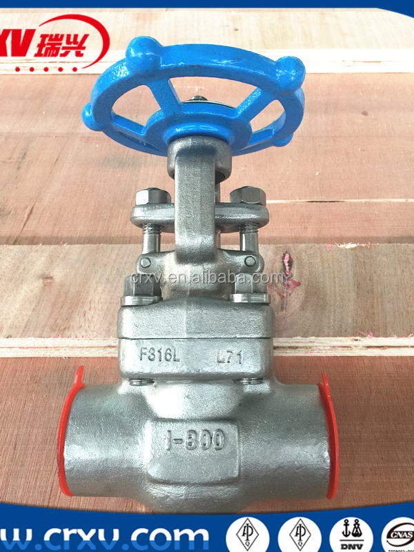 OS&Y Gate Valve Rising Stem and Non-rising Handwheel Valve