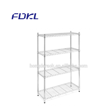 Retail wire mesh display rack metal shoe shelf