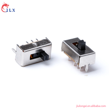 High quality 2p3t 8 pin defond momentary slide switch