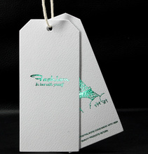 simple high quality hang tag supplier for jeans