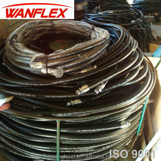 synthetic universal fuel line hoses for fuel injection machine