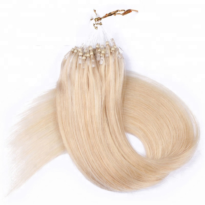 Micro Ring Links Easy Loop Beads Cheap Remy brazilian Human Hair Extension micro ring loop hair extension